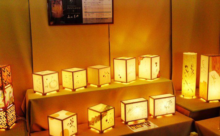 春の木工まつり2010のアイインテリアの展示会場