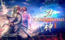 侍道外伝 KATANAKAMIのゲームタイトル画面